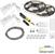 "Task Lighting illumaLED™ Vivid Series 32' Tape Light Duo Wireless Contractor Kit, 2-Zone, 2-Area, High Light Output, Daylight White 5000K, 384"" Length x 5/16""W x 1/16"" H"