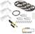 "Task Lighting illumaLED™ Vivid Series 49' Tape Light Quattro Wireless Contractor Kit, 3-Zone, 3-Area, High Light Output, Warm White 2700K, (3) Rolls 197"" Length x 5/16""W x 1/16"" H"