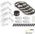 "Task Lighting illumaLED™ Vivid Series 65' Tape Light Quattro Wireless Contractor Kit, 4-Zone, 4-Area, High Light Output, Soft White 3000K, (4) Rolls 197"" Length x 5/16""W x 1/16"" H"