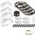 "Task Lighting illumaLED™ Vivid Series 65' Tape Light Quattro Wireless Contractor Kit, 4-Zone, 4-Area, High Light Output, Cool White 4000K, (4) Rolls 197"" Length x 5/16""W x 1/16"" H"