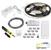 "Task Lighting illumaLED™ Vivid Series 16' Tape Light Uno Wireless Retail Packaged Kit, 1-Zone, 1-Area, High Light Output, Soft White 3000K, 197"" Length x 5/16""W x 1/16"" H"