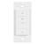"Task Lighting illumaLED™ Quattro Series Wireless 1-Zone Uno LED Controller in White, 1-5/16"" W x 3/8"" D x 2-5/8"" H"