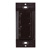 """Task Lighting illumaLED™ Quattro Series Wireless 2-Zone Duo LED Controller in Brown, 1-5/16"""" W x 3/8"""" D x 2-5/8"""" H"""