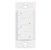 """Task Lighting illumaLED™ Quattro Series Wireless 2-Zone Duo LED Controller in White, 1-5/16"""" W x 3/8"""" D x 2-5/8"""" H"""