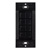 "Task Lighting illumaLED™ Quattro Series Wireless 4-Zone Quattro LED Controller in Black, 1-5/16"" W x 3/8"" D x 2-5/8"" H"