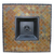 "Uniflame 41-1/4"" Square LP Gas Outdoor Fireplace with Slate Mantel"