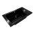 "Valley Acrylic OVO 66"" W x 42"" D Contemporary Black Rectangular Acrylic Drop-In Bathtub with Center Drain, 66"" W x 42"" D x 22"" H"