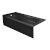 """Valley Acrylic PRO 66"""" W x 30"""" D Black Acrylic Bathtub with Sculpted Interior and Smooth Integral Skirt, Left Hand Drain, 66"""" W x 30"""" D x 20"""" H"""
