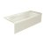 """Valley Acrylic PRO 66"""" W x 30"""" D Biscuit Acrylic Bathtub with Sculpted Interior and Smooth Integral Skirt, Right Hand Drain, 66"""" W x 30"""" D x 20"""" H"""