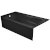 "Valley Acrylic PRO 66"" W x 32"" D Black Acrylic Bathtub with Sculpted Interior and Decorative Integral Skirt, Left Hand Drain, 66"" W x 32"" D x 20"" H"