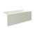 """Valley Acrylic 54"""" W x 30"""" D Biscuit Acrylic Bathtub with Smooth Integral Skirt with Right Hand Drain, 54"""" W x 30"""" D x 22"""" H"""