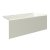"""Valley Acrylic 54"""" W x 32"""" D Biscuit Acrylic Bathtub with Smooth Integral Skirt with Right Hand Drain, 54"""" W x 32"""" D x 22"""" H"""