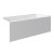 """Valley Acrylic 54"""" W x 32"""" D White Acrylic Bathtub with Smooth Integral Skirt with Right Hand Drain, 54"""" W x 32"""" D x 22"""" H"""