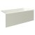 """Valley Acrylic 60"""" W x 32"""" D Biscuit Acrylic Bathtub with Smooth Integral Skirt with Right Hand Drain, 60"""" W x 32"""" D x 22"""" H"""