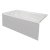 """Valley Acrylic STARK 60"""" W x 30"""" D White Acrylic Contemporary Bathtub with Smooth Integral Skirt Left Hand Drain, 60"""" W x 30"""" D x 22"""" H"""