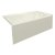 """Valley Acrylic STARK 60"""" W x 30"""" D Biscuit Acrylic Contemporary Bathtub with Smooth Integral Skirt Right Hand Drain, 60"""" W x 30"""" D x 22"""" H"""