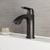 Vigo Penela Single Hole Bathroom Faucet, Matte Black
