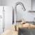 Vigo Oakhurst Led Pull-Down Kitchen Faucet, Chrome