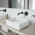 Vigo Olus Wall Mount Bathroom Faucet, Matte Black