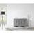 Grey Sink Set No Mirror Full View