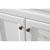 White Sink Set Vanity Close-up