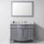 """Virtu 48"""" Norhaven Single Sink Bathroom Vanity Set"""