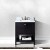 "Virtu USA Winterfell 30"" Single Bathroom Vanity Cabinet Set"