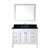 """Virtu USA Tiffany 48"""" Single Bathroom Vanity Cabinet Set"""