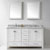 "Virtu USA Caroline Avenue 60"" Double Bathroom Vanity Set"