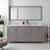 Cashmere Grey, Dazzle White Quartz, Square Sinks