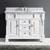 """Virtu USA Huntshire 48"""" Single Bathroom Vanity"""