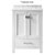 Virtu USA 24'' Caroline Avenue Single Sink Cabinet, White