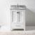 """Virtu USA Caroline Avenue 24"""" Single Bathroom Vanity Cabinet Set"""