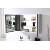 Grey Oak Single Mirror - Storage View