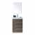 Grey Oak Vanity White Background