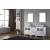 "Virtu USA Dior 74"" Double Sink Bathroom Vanity Set"