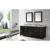 "Virtu USA Caroline Parkway 78"" Double Bathroom Vanity Cabinet Set"
