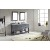 "Virtu USA 60"" Caroline Estate Double Round Sinks Bathroom Vanity Set, Grey, Italian Carrara White Marble Countertop, Double Framed Mirrors, Polished Chrome Faucet"