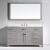 Cashmere Grey w/ Square Sink - Front View
