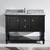 """Virtu USA Julianna 48"""" Single Bathroom Vanity Cabinet Set"""