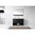 Virtu USA Gloria 48'' Single Bath Vanity Set, Slim White Ceramic Top with Integrated Square Sink in Espresso