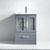 Grey w/ Ceramic Top - No Mirror