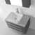 Virtu USA Ivy Complete Wall Mounted Bath Vanity Set