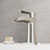 Brushed Nickel Faucet with Deck Plate