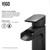Matte Black Faucet - Information 1
