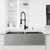 Vigo Matte Gold/Matte Black with Soap Dispenser Lifestyle 2