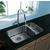 Vigo Chrome Pull-Out Wide Spray Kitchen Faucet