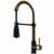 Vigo Matte Gold/Matte Black Faucet Display View