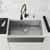 Vigo Matte Gold/Matte Black with Soap Dispenser Lifestyle 3