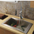 Vigo Chrome Curved Pull-Down Spray Kitchen Faucet